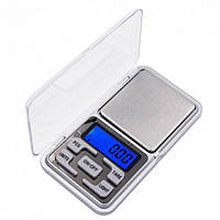 Карманные ювелирные электронные весы до 500 грамм, фото 1