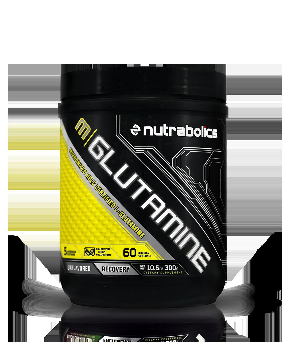 Глютамин NutraBolics Glutamine (300 г) нутраболик unflavored