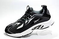 Мужские кроссовки в стиле Reebok DMX Series 1200, Black\White\Gray