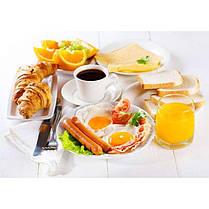 Стіл кухонний скляний Прямокутний Nice breakfast 91х61 *Еко (БЦ-стіл ТМ), фото 3