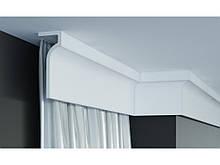 Шторный карниз Gaudi Decor  P 891,лепной декор из полиуретана.