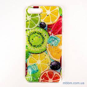 Чохол Silicon Summer Fruit iPhone 8 Plus / 7 Plus Mix Fruit