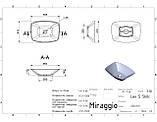 Раковина Miraggio Lex S 550, фото 3