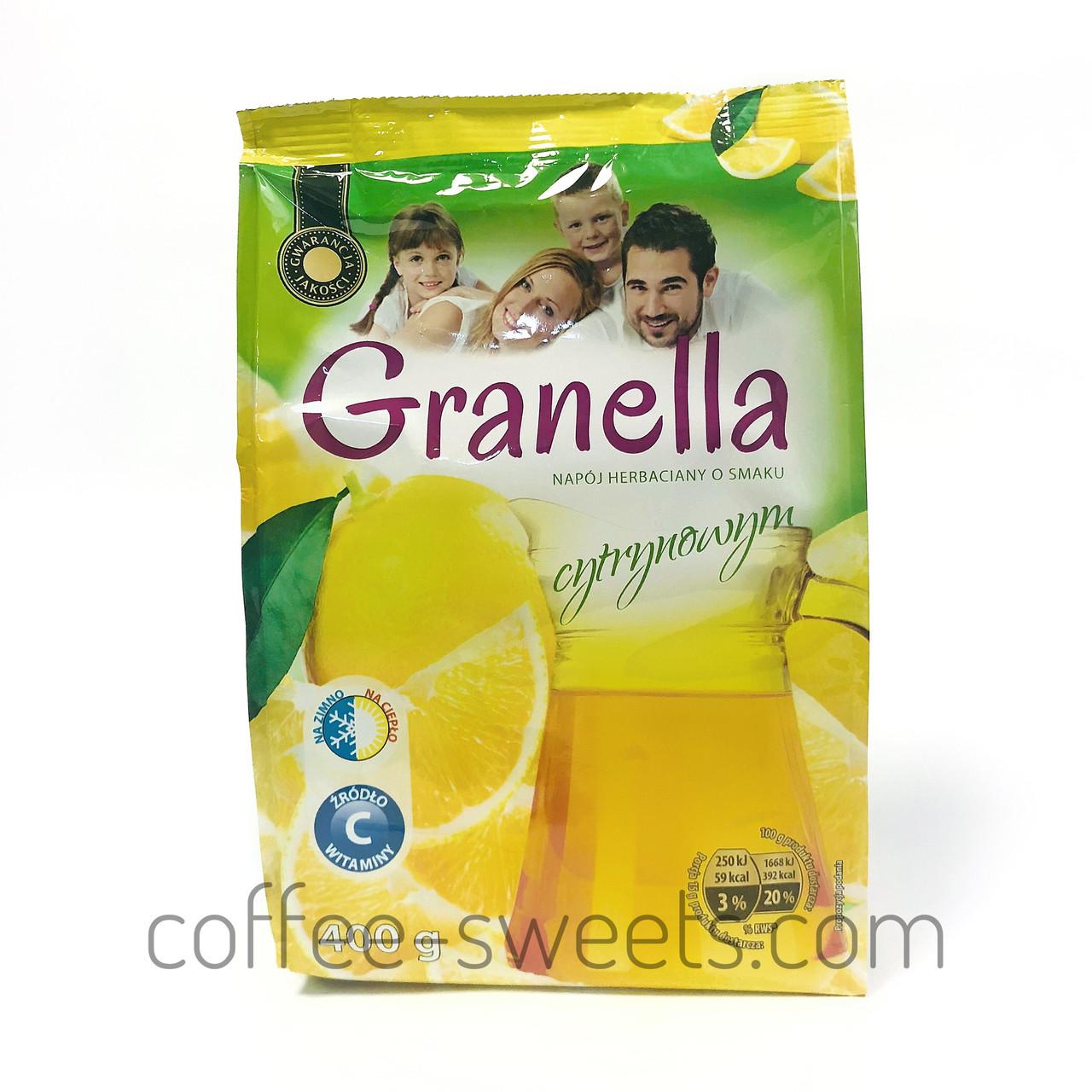Чай гранулированный Granella (лимон) 400гр