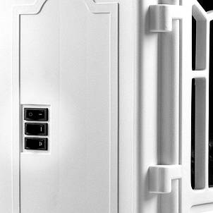 Электрический камин Torino 1000W - 2000W белый, фото 2