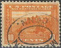 USA - Panama Pacific Issue 1912-1913