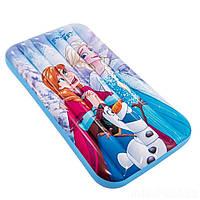 Детский надувной матрасик - плотик Intex 48776 «Холодное сердце», 157*88*18 см