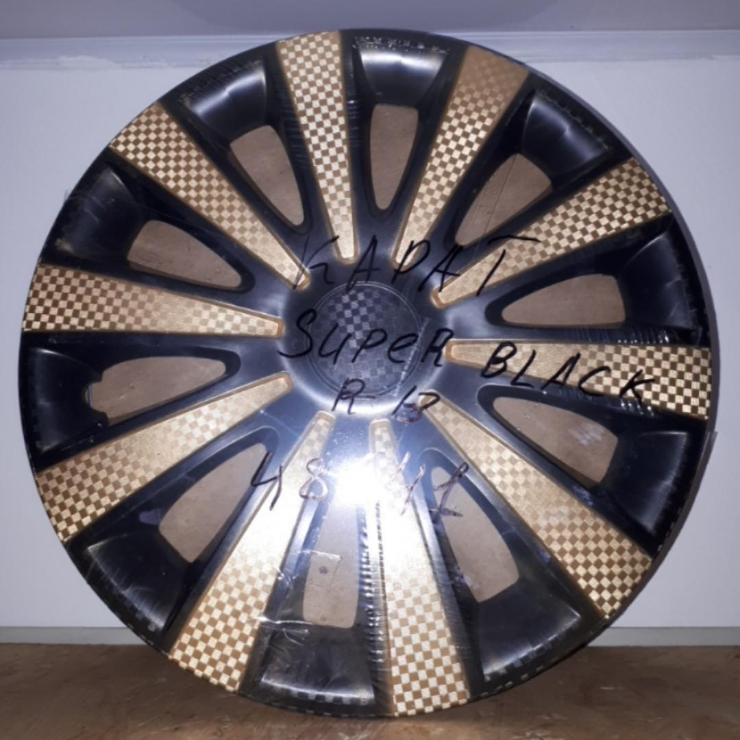 Колпаки на колеса Star Карат Super Black Gold R13