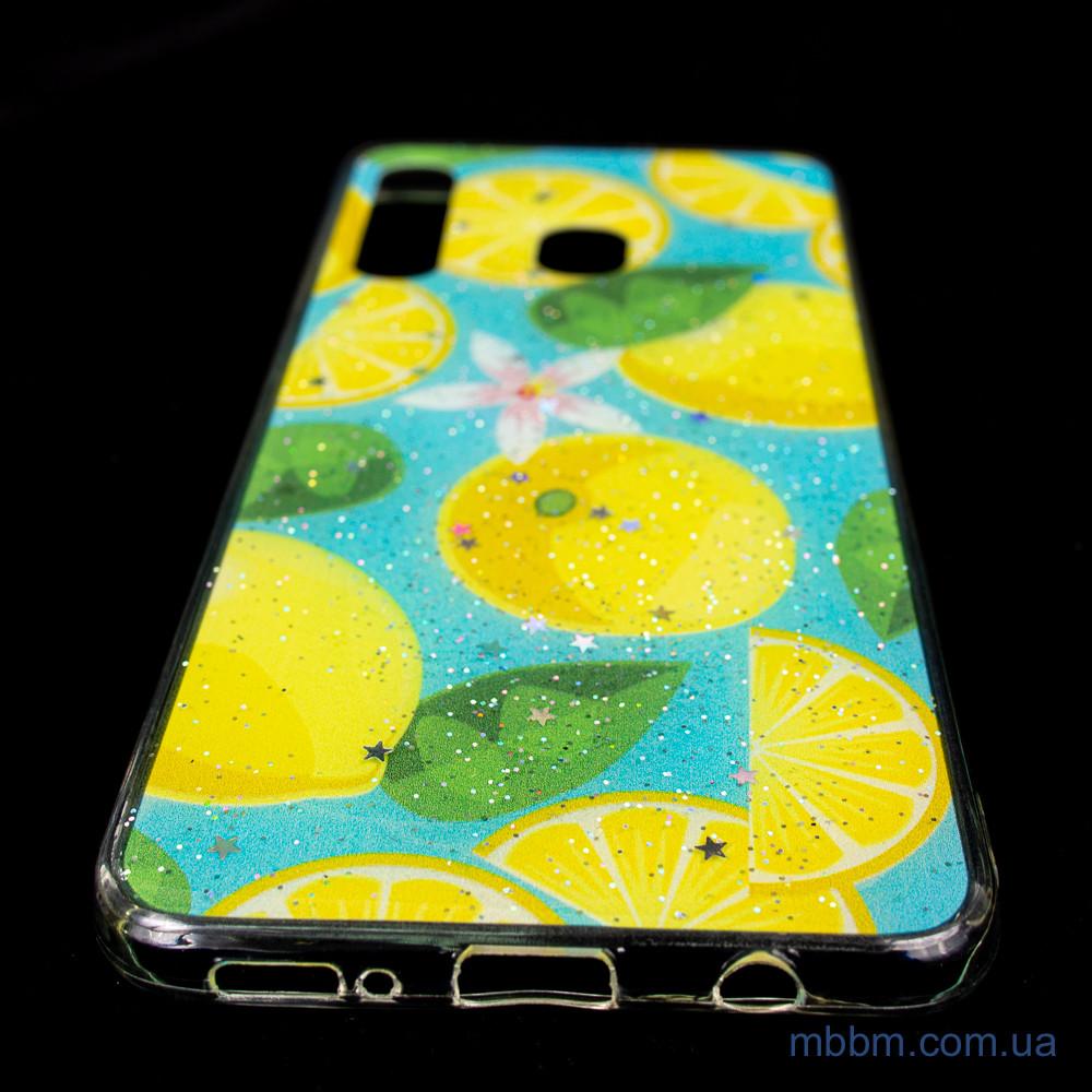 Чехол Silicon Summer Fruit Samsung A20