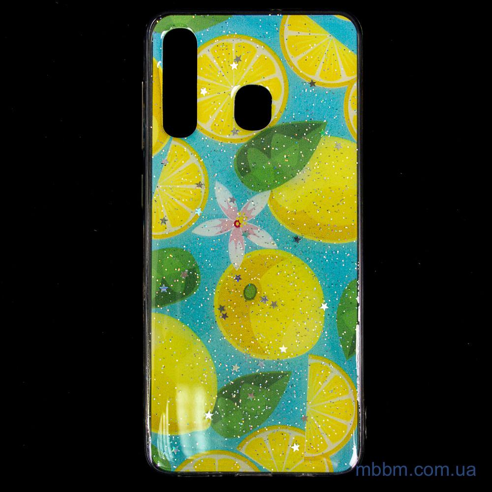 Чехол Silicon Summer Fruit Samsung A20 Galaxy