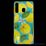 Чехол Silicon Summer Fruit Samsung A20/A30 Lemon, фото 5