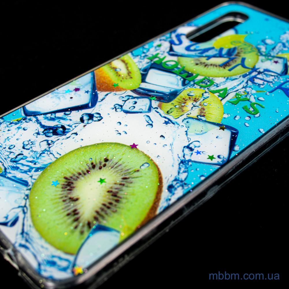 Чехол Silicon Summer Fruit Samsung A30s
