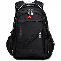 Швейцарский городской водозащитный рюкзак Swissgear 8810 Original с AUX и USB