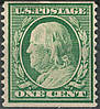 USA - 1908-1909 Coil Stamp Sc#352