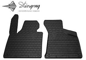 Передние резиновые коврики Audi A3 (8P) 2003- (2 шт) Stingray 1030252