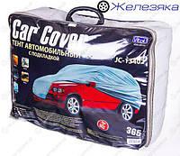 Чехол автомобильный (Тент) VITOL Джип/Минивен с подкладкой PEVA+non PP Cotton (размер M)