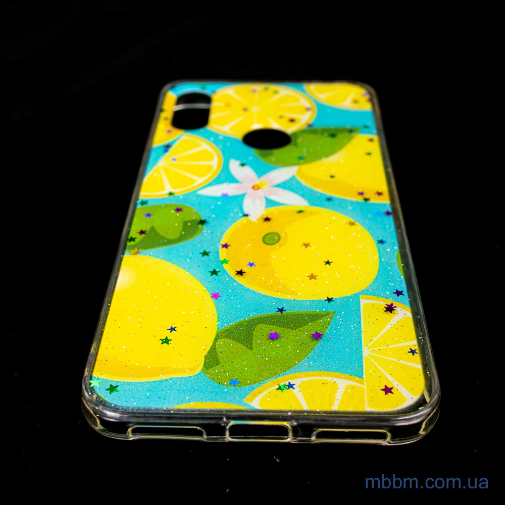 Чехол Silicon Summer Fruit Xiaomi Redmi 7 Lemon