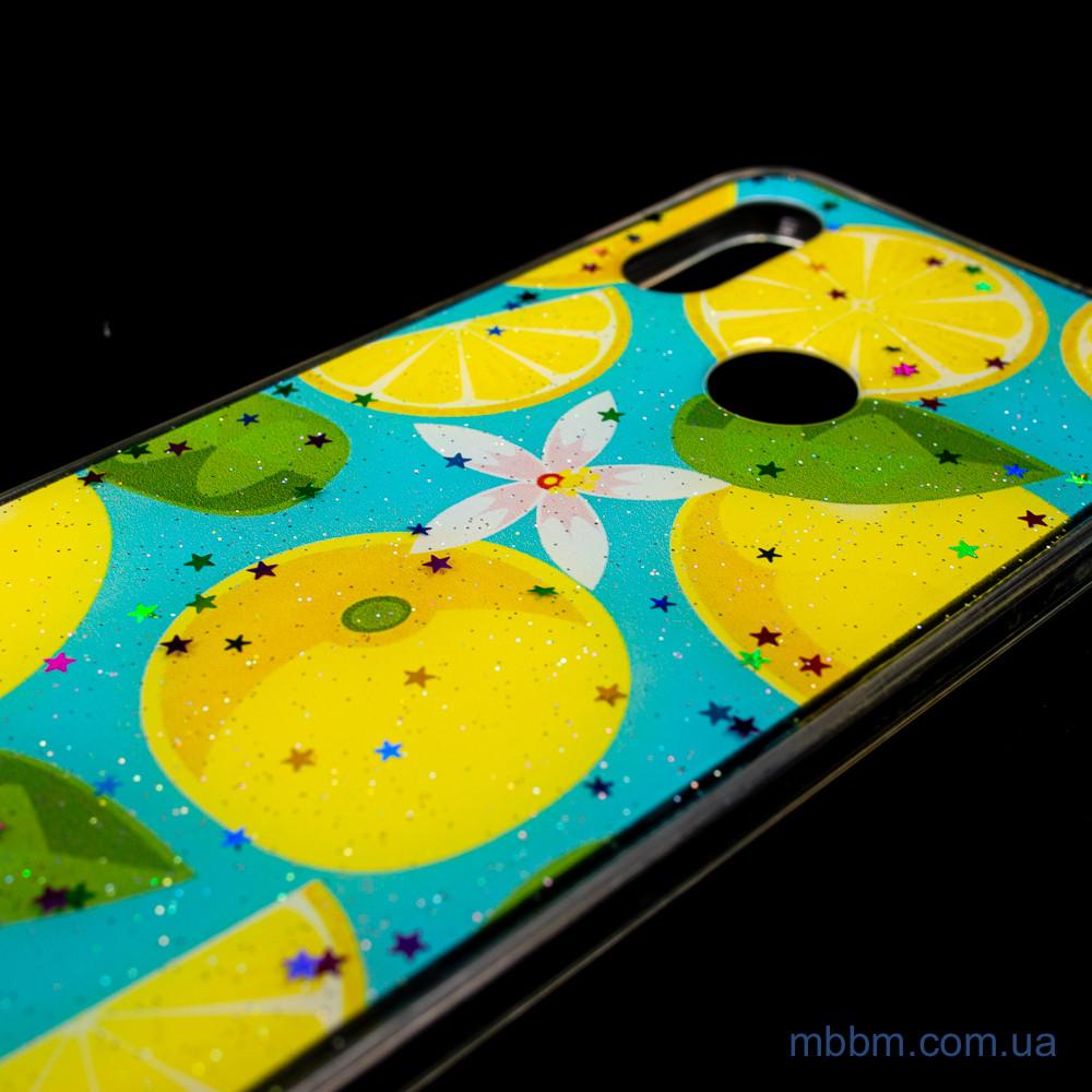 Чехлы для Xiaomi Redmi 7 Silicon Summer Fruit Lemon