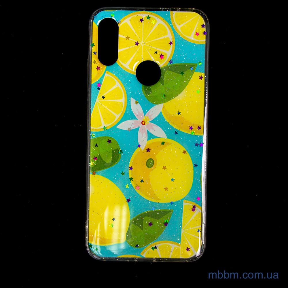 Silicon Summer Fruit Xiaomi Redmi 7 Lemon