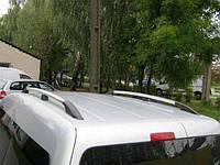 Рейлинги Volkswagen Caddy ХРОМ, типа Crown, короткая база, Фольксваген Кадди
