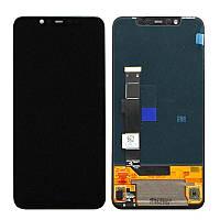 Дисплей для Xiaomi Mi8 Pro с тачскрином черный Оригинал