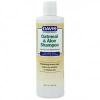Davis (Дэвис) Oatmeal & Aloe Shampoo ДЭВИС ОВСЯНАЯ МУКА С АЛОЭ гипоаллергенный шампунь без мыла, 355 мл