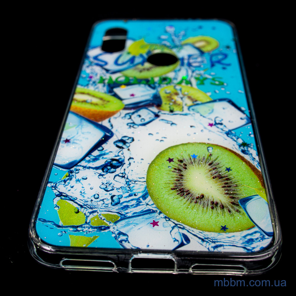 Чехлы для Xiaomi Redmi Note 7 Silicon Summer Fruit kiwifruit