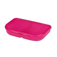 Ланчбокс 2 відділення Herlitz Pink рожевий (Ланчбокс 2 отделения Herlitz Pink розовый)