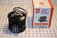 Электродвигатель отопителя (мотор печки) Газель с крыльчаткой новый образец,ВАЗ 2108 12В; 90Вт (производ. ДК)