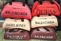 Женские универсальные сумки из искусственной кожи в ассортименте 46*22 см