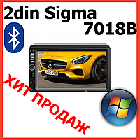 Автомагнитола  2din магнитола с Bluetooth. Мультимедийная система Sigma 7012