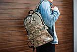Рюкзак The North Face (camo), городской рюкзак Норз Фейс камуфляжный, камуфляжный рюкзак TNF (Реплика ААА), фото 2