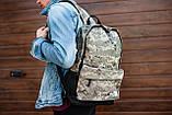Рюкзак The North Face (camo), городской рюкзак Норз Фейс камуфляжный, камуфляжный рюкзак TNF (Реплика ААА), фото 4