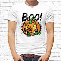 "Мужская футболка с принтом ""Boo!"" Push IT"