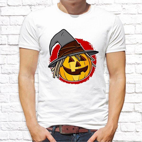 """Мужская футболка с принтом """"Halloween"""" Push IT"""