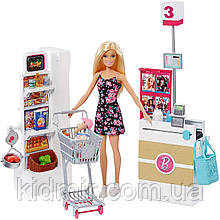 Кукла Барби Набор Супермаркет Barbie Supermarket Set FRP01