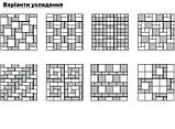 Брусчатка 6 (10х10) Серый / Бруківка 6 (10х10) Сірий, фото 2