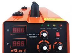 Сварочный полуавтомат (MIG/MAG,MMA, 310А) инверторный Sturm AW97PA310. Гарантия 2 года, фото 3