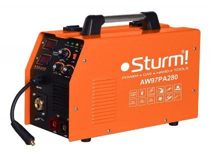Сварочный полуавтомат (MIG/MAG,MMA, 310А) инверторный Sturm AW97PA310. Гарантия 2 года