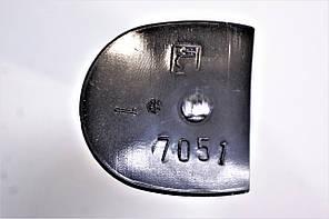 Каблук женский пластиковый 7051 р.1-3  h-7,0-7,7 см., фото 3