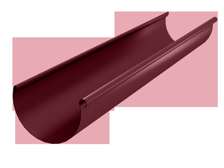Желоб водосточный металлический окрашенный