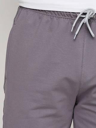 Штаны мужские, серые стальные L, фото 2