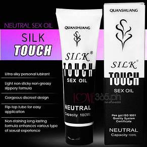 Лубрикант Silk Touch Sex Oil для анального секса (водная основа) 100 мл, фото 2