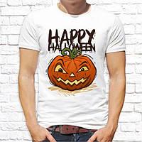 """Чоловіча футболка з принтом """"Happy halloween"""" Push IT"""