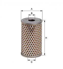 Вкладиш масляного фільтра Hengst E10H02