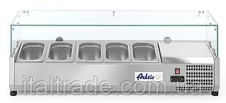 Витрина холодильная для топпинга Hendi 232 903 (5xGN1/4)