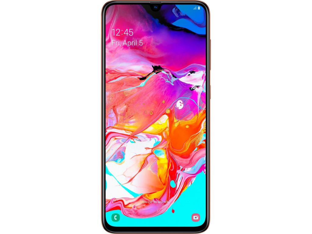 Смартфон Samsung Galaxy A70 2019 6/128Gb Coral