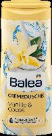 Крем-гель для душа Balea Vanille & Cocos, 300 мл.
