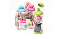 Бутылка спортивная пластиковая для воды Fissman 0,5 л 6842