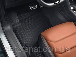 Комплект оригинальных ковриков в салон Volkswagen Tiguan (5N) с 2016 года  (5NB06150082V)